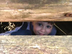 adventure park margam - tom hiding